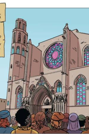 La Catedral del mar – comic