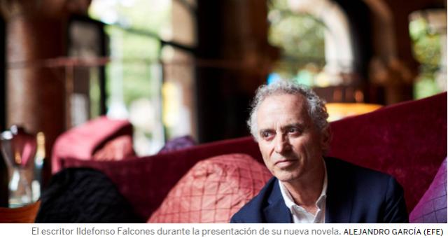 """Ildefonso Falcones: """"El lujo de los ricos de hoy no dejará nada"""""""