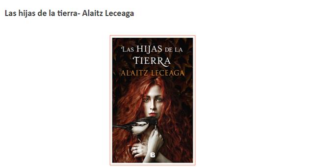 Las hijas de la tierra – Alaitz Leceaga