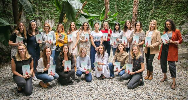 Fotos del encuentro de Carla con las Instagramers en Barcelona