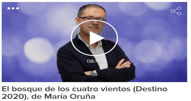 """""""El bosque de los cuatro vientos"""" (Destino 2020), de María Oruña"""